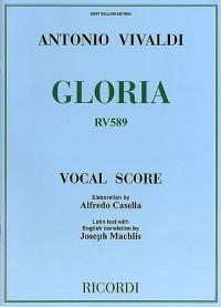 Antonio Vivaldi: Gloria RV 589 (Ricordi Vocal Score)