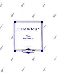 Tchaikovsky: Valse Sentimentale (Viola/Piano)