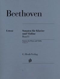 Beethoven, L v: Sonatas for Piano and Violin Vol. 1