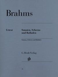 Brahms, J: Sonatas, Scherzo and Ballades