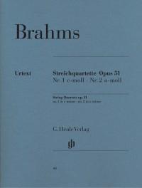 Brahms, J: String Quartets op. 51/1&2