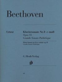 Beethoven, L v: Piano Sonata c minor [Grande Sonata Pathétique] op. 13