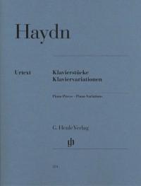 Haydn, J: Piano Pieces - Piano Variations