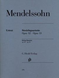 Mendelssohn: String Quartets op. 12 und 13