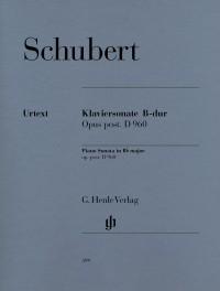 Schubert, F: Piano Sonata B flat major D 960