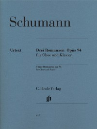Schumann, R: Romances for Oboe (or Violin or Clarinet) and Piano op. 94