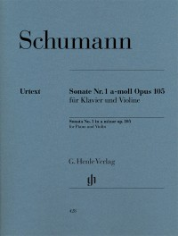 Schumann, R: Sonata for Piano and Violin a minor op. 105