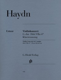 Haydn, J: Concerto for Violin and Orchestra G major Hob. VIIa:4