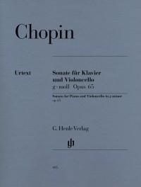 Chopin, F: Sonata for Violoncello and Piano G minor op. 65