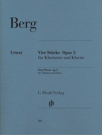 Berg, A: 4 Pieces op. 5