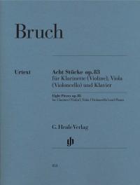 Bruch, M: 8 Pieces op. 83