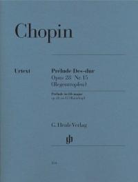 Chopin, F: Prélude in D flat major op. 28/15