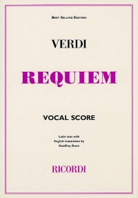 Verdi: Requiem (Vocal Score)