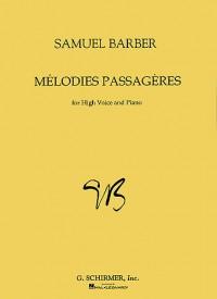 Samuel Barber: Melodies Passageres Op.27 (High Voice)