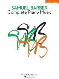 Samuel Barber: Complete Piano Music