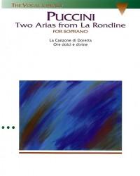 Giacomo Puccini: Two Arias From La Rondine