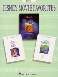 Disney Movie Favorites Instrumental Solo Clarinet