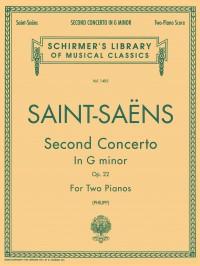 Camille Saint-Saens: Piano Concerto No.2 In G Minor Op.22 (2-Piano Score)