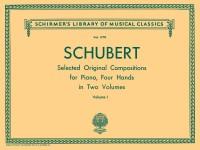 Franz Schubert: Selected Original Compositions For Piano Duet Volume I