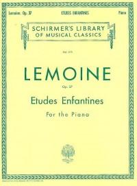 Henry Lemoine: Etudes Enfantines Op.37