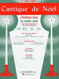 Adolphe Adam: Cantique De Noel (O Holy Night) For Low Voice In B Flat