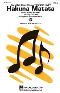 Elton John: Hakuna Matata (2-Part Choir)