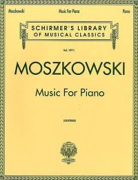 Moritz Moszkowski: Music For Piano
