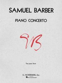 Samuel Barber: Concerto For Piano Op.38 (2 Piano Score)