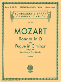 W.A. Mozart: Sonata In D (K.448)/Fugue In C Minor (K.426)- 2 Pianos