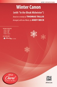 Thomas Tallis: Winter Canon SATB