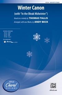 Thomas Tallis: Winter Canon SAB