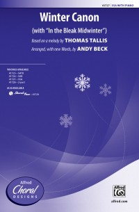 Thomas Tallis: Winter Canon SSA