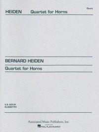 Bernhard Heiden: Quartet for Horns