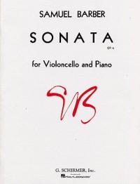 Samuel Barber: Sonata Op.6 For Violoncello And Piano