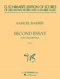 Samuel Barber: Second Essay For Orchestra Op. 17 (Score)