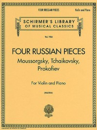 Four Russian Pieces For Violin And Piano