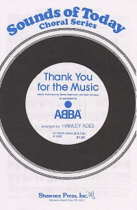 ABBA: Thank You For The Music (SATB)