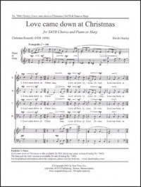Derek Healey: Love came down at Christmas