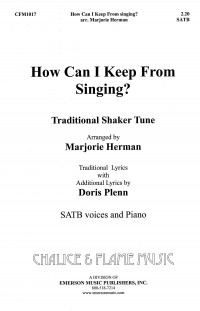 Marjorie Herman: How Can I Keep From Singing