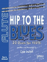 Hip To The Blues Flute Duets Bk & Cd