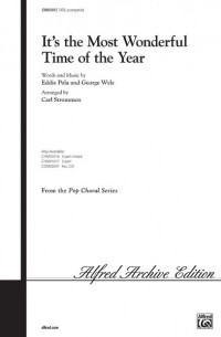 Eddie Pola/George Wyle: It's the Most Wonderful Time of the Year SATB