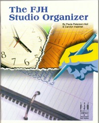 Carolyn Inabinet_Paula Peterson-Heil: FJH Studio Organizer, The