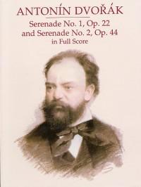 Dvorak: Serenade No.1 Op.22 And Serenade No.2 Op.44 In Full Score