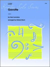 Lemoine Gavotte Clarinet Solo