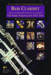 Foundations For Superior Performance Fingering & Trill Chart Bass Clarinet