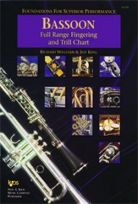 Foundations For Superior Performance Fingering & Trill Chart Bassoon