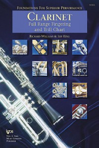 Foundations For Superior Performance Fingering & Trill Chart Clarinet