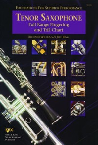 Foundations For Superior Performance Fingering & Trill Chart Tenor Saxophone