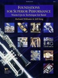 Richard Williams_Jeff King: Foundations for Superior Performance (Tenor Sax)