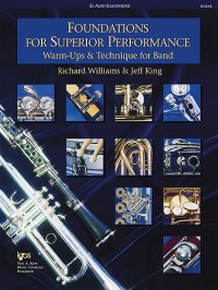 Richard Williams_Jeff King: Foundations for Superior Performance (Alto Sax)